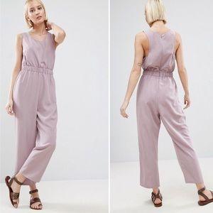 ASOS Minimal Lavender Jumpsuit